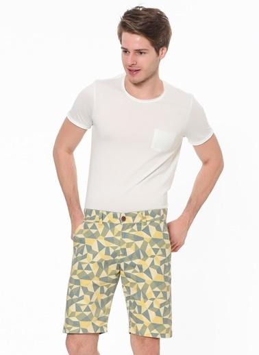 Phazz Brand Bermuda Sarı